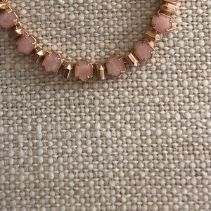 Custom designed Kendra Scott rose gold necklace